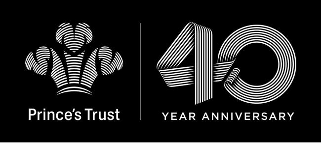 prince s trust 40yr logo jonathan mcghee